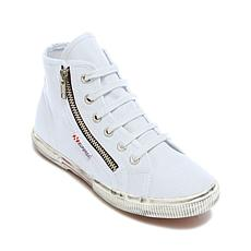 Superga Zippered High-Top Sneaker