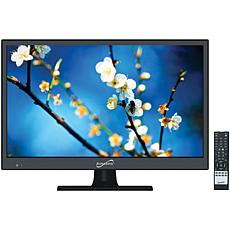 """Supersonic 15.6"""" 720p LED HDTV, AC/DC Compatible with RV/Boat"""