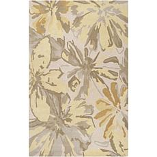 Surya Athena 5' x 8' Transitional Area Rug - Cream