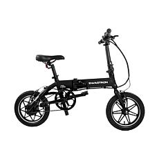 Swagtron SwagCycle EB-5 Aluminum Folding E-Bike with Pedals