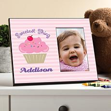 """Sweetest Thing"" Personalized Picture Frame"