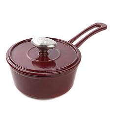 Symon Home 1-Quart Enameled Cast Iron Saucepan
