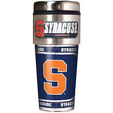 Syracuse Orange Travel Tumbler w/ Metallic Graphics and Team Logo