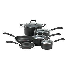 T-fal® Professional 10-piece Cookware Set - Black