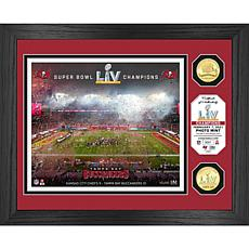 Tampa Bay Buccaneers Super Bowl LV Celebration Bronze Coin Photo Mint