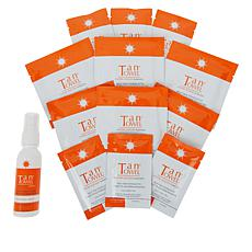 TanTowel® Classic Self-Tanning Kit with Tanning Mist