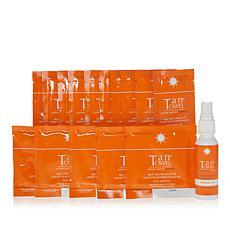 TanTowel® Dark 15-piece Kit with Express Tan Mist AS