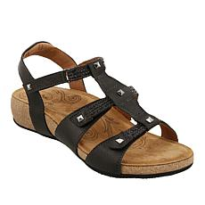 Taos Footwear Eleanor Leather Adjustable Sandal
