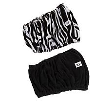 Tassi 2-pack Hair Holder - Black/Zebra