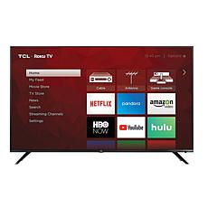 """TCL 6-Series 75"""" 4K Ultra HD Roku Smart TV with HDMI Cable"""