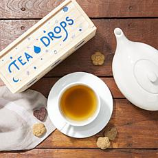 Tea Drops 25 Servings in Large Wooden Box - Caffeine-Free