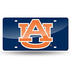 Team Colored Laser Tag License Plate-Auburn University