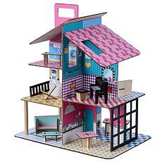 "Teamson Kids Olivia's World Dreamland 360 Pop 3.5"" Doll House"