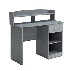 Techni Mobili Modern Office Desk/Hutch