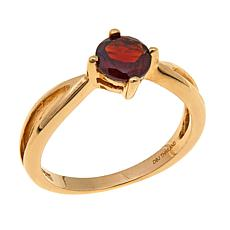 Technibond® 1ctw Garnet Birthstone Ring