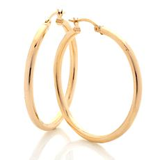 Technibond® Full Circle Hoop Earrings