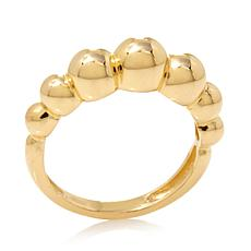 Technibond High-Polish Graduated Bead Ring
