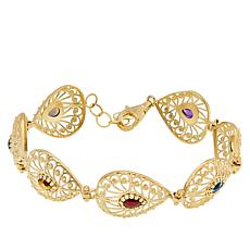 Technibond® Multigem Filigree Bracelet