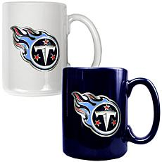 Tennessee Titans 2pc Coffee Mug Set