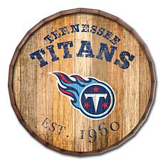 "Tennessee Titans Established Date 24"" Barrel Top"