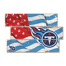 Tennessee Titans Flag 3 Plank