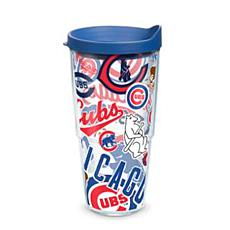 Tervis MLB All-Over 24 oz. Tumbler with Lid - Chicago Cubs