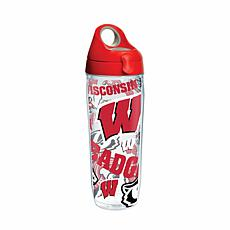 Tervis NCAA All-Over 24 oz. Water Bottle with Lid - Wis
