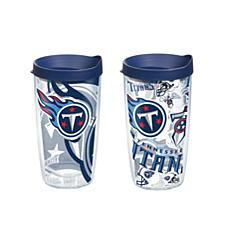 Tervis NFL 16 oz All Over and Genuine Tumbler Set - Tennessee Titans