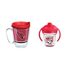 Tervis NFL Arizona Cardinals Legend Coffee Mug & Born A Fan Sippy Cup