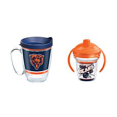 Tervis NFL Chicago Bears Legend Coffee Mug & Born A Fan Sippy Cup