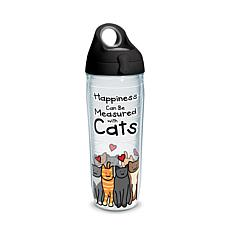 Tervis Project Paws Happiness Can Be Measured With Cats 24 oz Water...