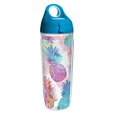 Tervis Watercolor Pineapple 24 oz. Water Bottle with Li
