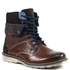 Testosterone Shoes Ace Race Men's Lace Up Leather Boot