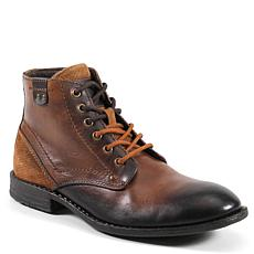 Testosterone Shoes Fight Song Men's Leather Lace Up Boot