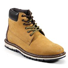 Testosterone Shoes Train Track Men's Lace Up Leather Boots