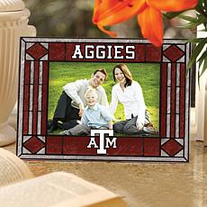 Texas A and M University Glass Picture Frame