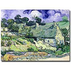 Thatched Cottages at Cordeville, Auvers-Sur-Oise
