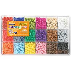 The Beadery Bead Extravaganza Bead Box Kit 19.75oz - Crayon