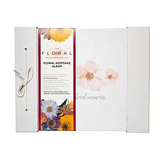 The Floral Preservation Company All Occasion Floral Keepsake Album