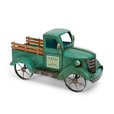 "The Gerson Company 18.9""L Metal Antique Garden Truck"