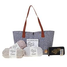 The Hook Nook Ultimate Crochet Starter Kit with Carry Bag