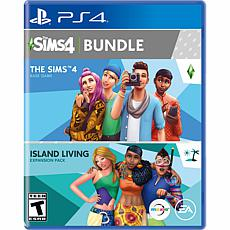 The Sims 4 Plus Island Living Bundle for PS4