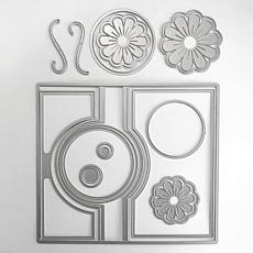 The Stamps of Life Large Circle Flip-It Card Die Set