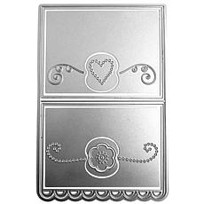 The Stamps of Life Ribbon Edge A2 Card Craft Dies