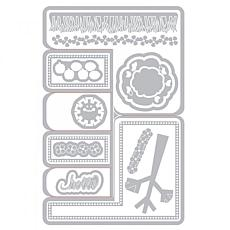 The Stamps of Life Rounded Step Up Card A2 Envelope Size Craft Die Set