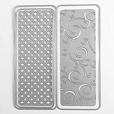 The Stamps of Life Turtle Rounded Slimline Card Die Set