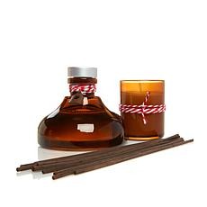 Thymes Gingerbread Reed Diffuser & Votive Candle Set