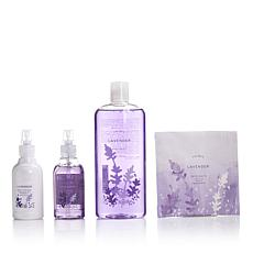Thymes Lavender Deluxe Bath & Body Set