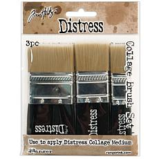 Tim Holtz Distress Collage Brush Assortment