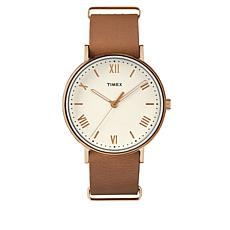 Timex Men's Southview 41mm Tan Leather Strap Watch